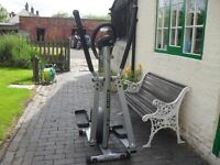Glider Cross Trainer by Olympus - hardly used - computerised with all info
