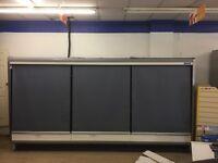 UNO steel multideck chiller refrigerator with condensing unit