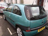 Vauxhall Corsa diesel 1.7 Isuzu 2003 118k miles Mot August cheap motoring
