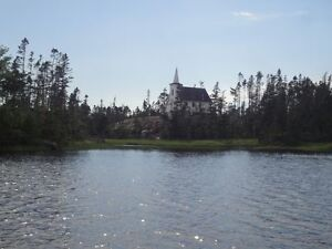 Historic Church on Waterfront property