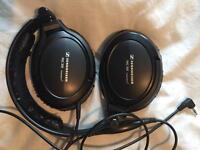 Sennheiser PCX 350 Noise-cancelling headphones.