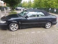 Saab convertable car