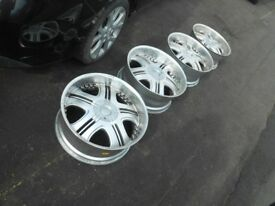 "22""AXE Cruz bp alloy wheels fits range rover sport discovery vogue !!!"