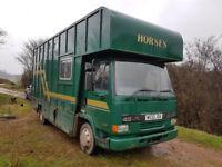 2000 DAF FA 45 150 2 Horse horsebox lorry