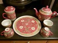 Beautiful chai/tea set
