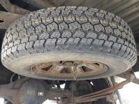 Mitsubishi L200 spare wheel USED + Goodyear Wrangler AT/S 205/80S16 NEW