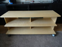 Ikea Benno TV Unit with Casters