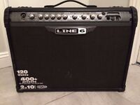 Line 6 Spider II guitar amp in A1 condition with free cover.