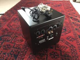 MJ Acoustics Pro 50 Subwoofer (+ QED cables)