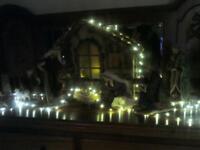 Christmas,. Large Nativity scene ( beautiful )
