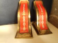 Vintage Solid Brass Stella Artois bar pumps