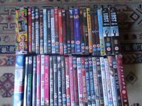 Joblot of 53 DVD's
