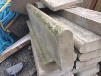Edging stone brick