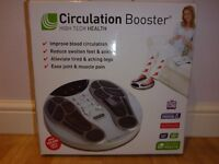 High Tech Health circulation booster. Excellent boxed condition.