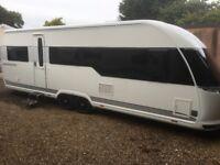 Hobby Caravan 645 Vip Premium (2013/14 Model) With Motor Mover. Like Tabbert/Fendt