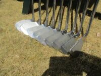 Set of Irons : 3 - Sand Wedge (total 7 clubs ) + Blade Putter + Carry Bag.