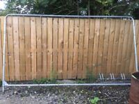 Security/building site fencing £145. Collection only