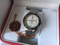 New Swiss Omega Seamaster Automatic Watch