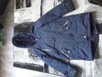 Girls 11-12years river island coat