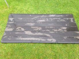 Composite fence panel kit.
