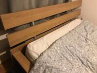 IKEA HOPEN King Size Bed & IKEA Memory Foam Mattress & Instructions