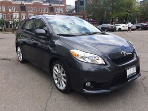 2012 Toyota Matrix XRS One owner very low kms