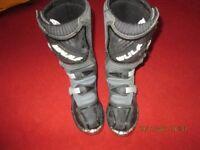 kids motocross boots size EU 36 UK 4