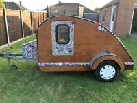 teardrop trailer caravan camping pod