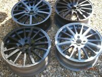 ALLOY WHEELS FORD ROVER HONDA AUDI + OTHERS