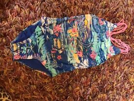 Next girls swimming costume age 6. Good condition