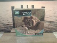 Lion and Cub Puzzle