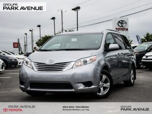 2017 Toyota Sienna CAMÉRA+A/C 3 ZONES+CRUISE CONTROL