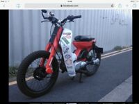 Yamaha t80 townmate custom learner legal 80cc ( not moped 125cc - 50 cc)