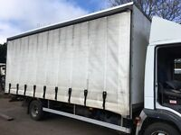 TRUCK BODY CURTAIN SIDE CLEAN DRY BODY FOR STORAGE OR REFIT OFF A 2008 TRUCK £350 + VAT