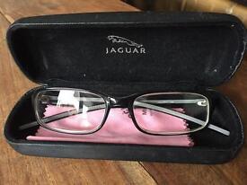 Jaguar glasses with case