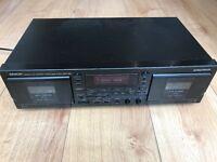 Denon DRW-580 stereo cassette tape deck