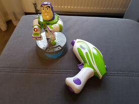 Toy Story Buzz Lightyear & Zurg Laser Game Perfect Conditon Fully working