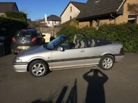 Rover 216 Cabriolet, genuine low mileage