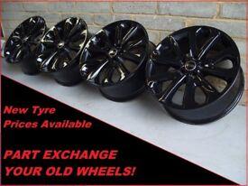 "2216 Genuine 20"" 502 Land Range Rover Vogue Sport Discovery Black Alloy Wheels"