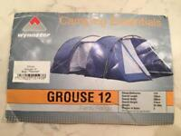 Wynnster tent 12 berth vgc cash only uk buyers please