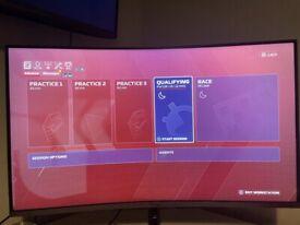 Samsung CJG52 32 Inch 144Hz QHD Curved gaming monitor