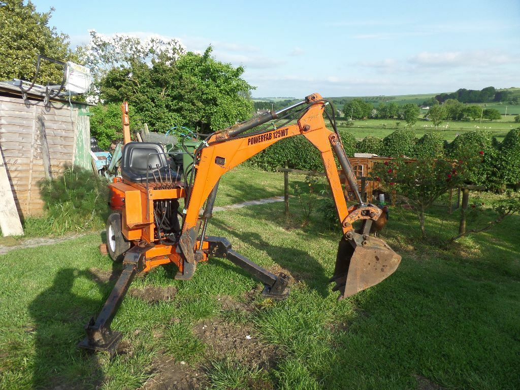 Powerfab Wt125 Towable Mini Digger In Warminster