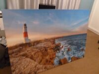 large canvas picture aprox 5ft lth aprox 4ft wide