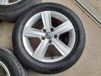 VW Alloys Excellent Condition