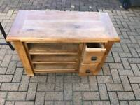 Solid Oak wood occasional table