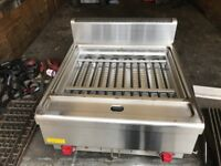 NEW ELECTRIC CHARCOAL GRILL CATERING COMMERCIAL KITCHEN FAST FOOD TAKE AWAY RESTAURANT KITCHEN BAR