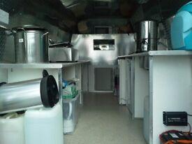 Catering Van Ford Transit 2005