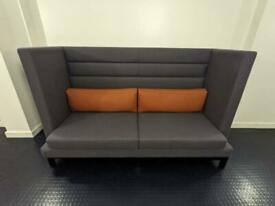 RRP: £3,443 - Like New Designer High Back Sofa