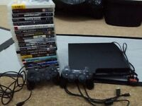 Ps3 320gb 23 games 2 controllers