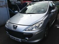 2006 Peugeot 307 1.4 S 5dr silver manual EZR EZRC BREAKING FOR SPARES